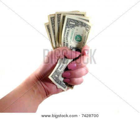 Cash Wad Woman