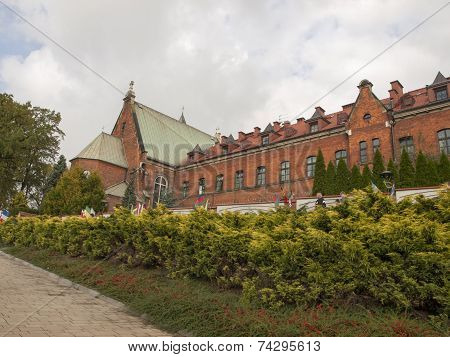 Convent Where She Stayed Saint Faustina  In Krakow In Poland Lagiewniki