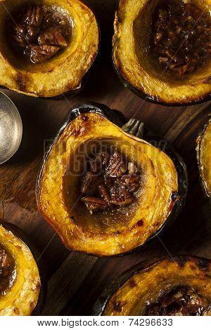 Homemade Roasted Acorn Squash