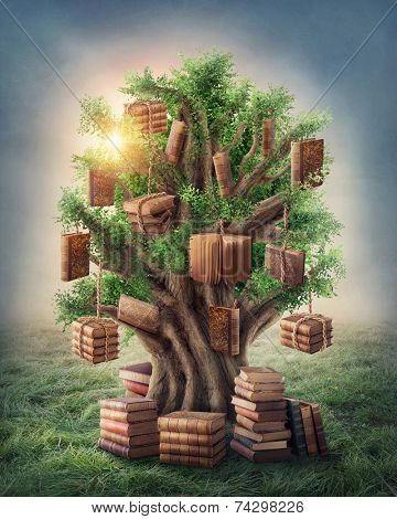 Tree of knowledge in the meadow