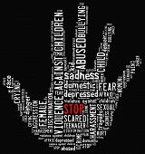Stop Violence Against Children  poster