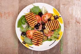 Halloumi Salads