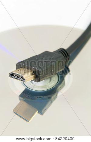 Hdmi Plug And Blu-ray