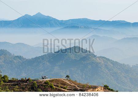 Landscape Mountain Sunrise