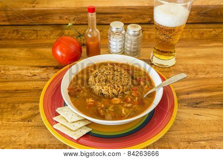 Gumbo With Beer