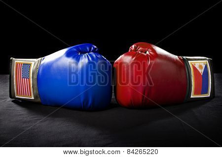 USA vs Philippines Boxing