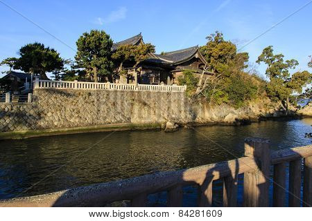 Japanese House On A Canal
