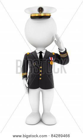 3d white people lieutenant