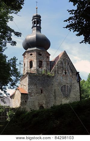 Ruins Of The Augustinian Monastery, Pivon, Czech Republic
