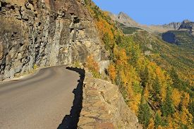 Going-to-the-sun-road, Glacier National Park