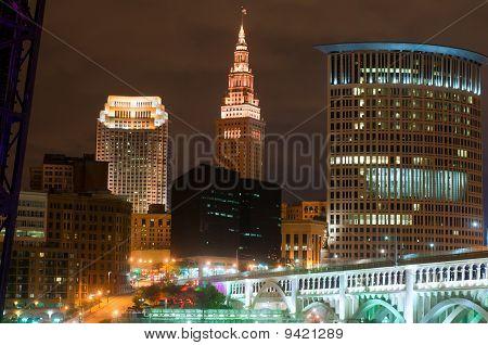 Cleveland Lit Up