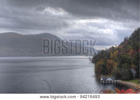 Mist in Autumn