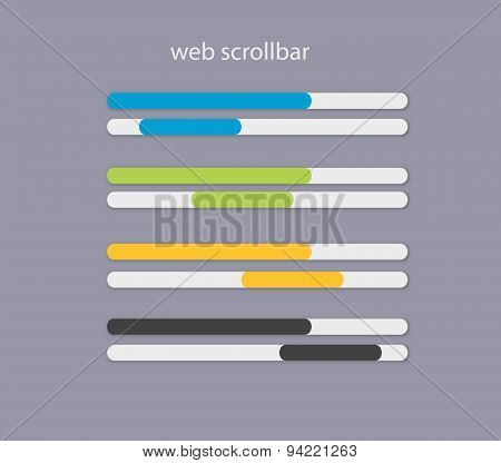 Web Scrollbars With Light Colors