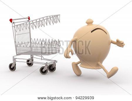 Shopping Cart Biting Savings