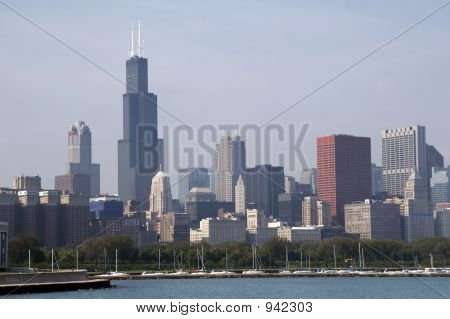 Skyline Of Chicago Soc03