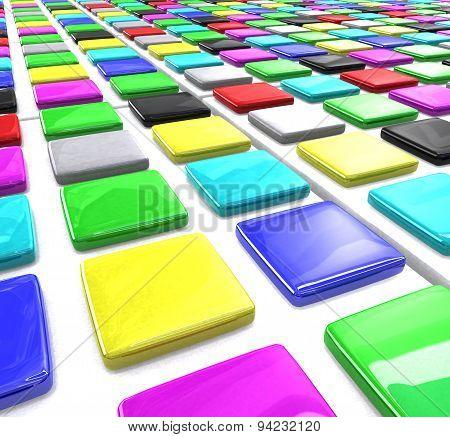 Color Square Blocks
