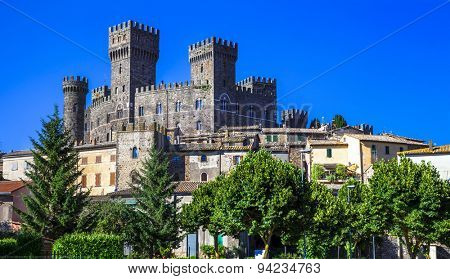 Torre Alfina - medieval village and castle in Viterbo province,