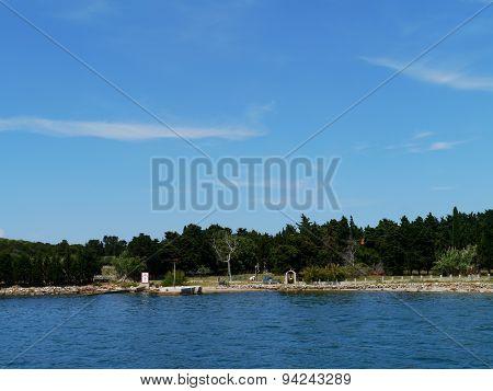The Croatian Sv Petar isle