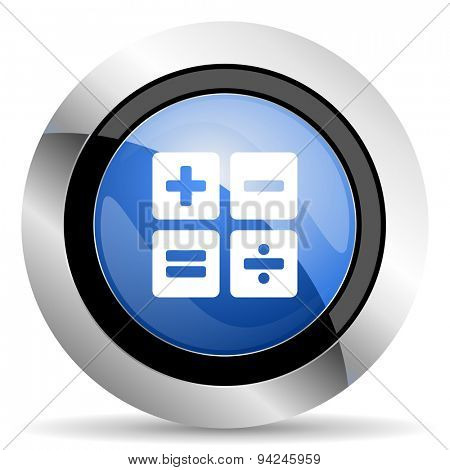 calculator icon calc sign original modern design for web and mobile app on white background