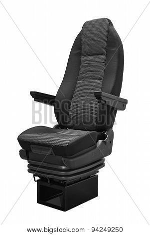 Coach Seat Isolated On White Background