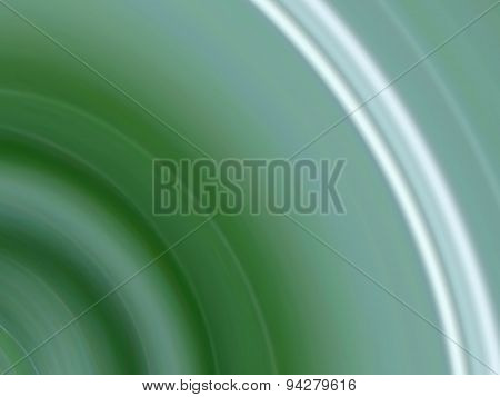 Green Arc Abstract