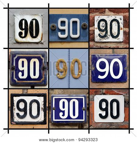 Number 90