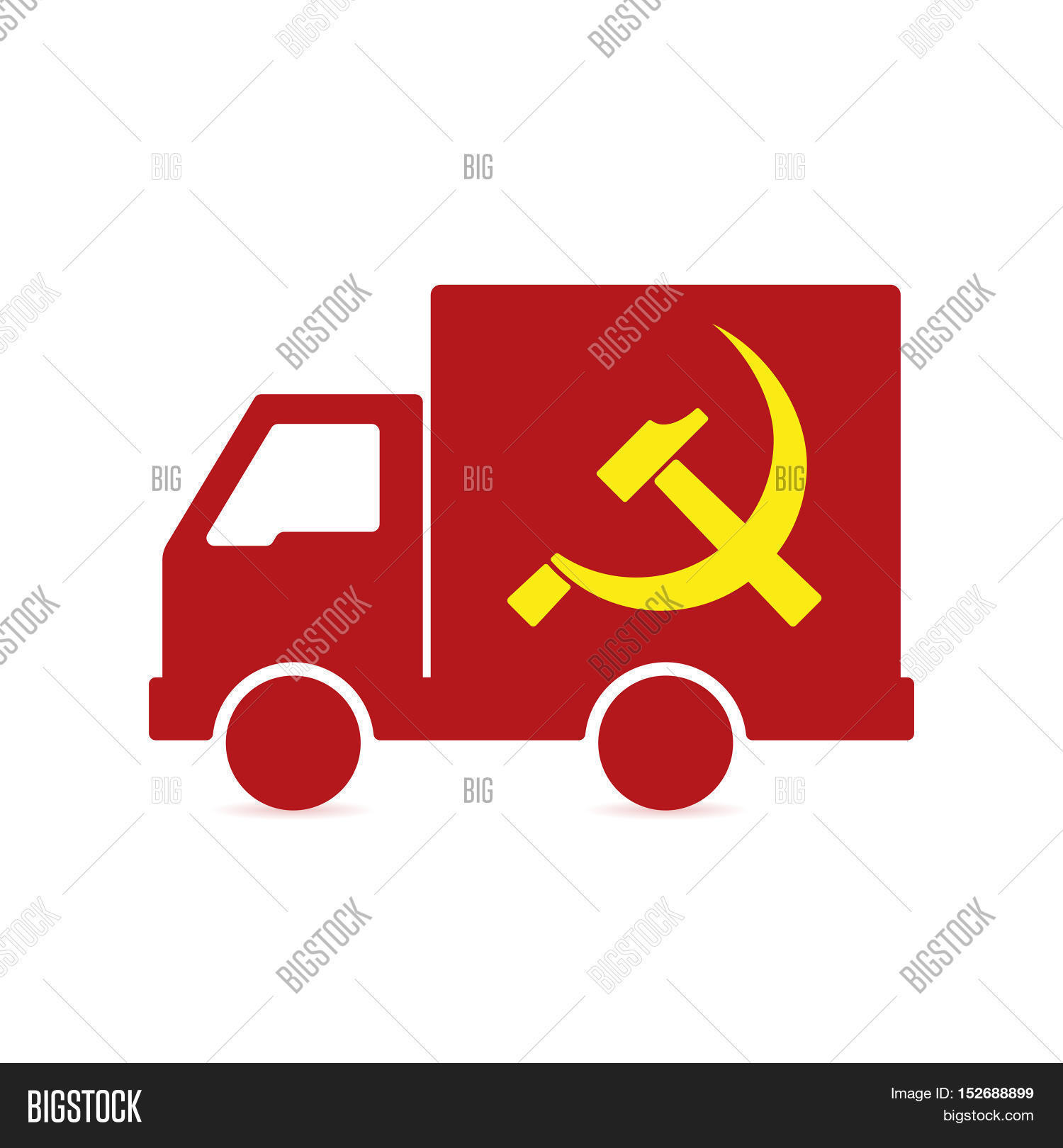 Isolated Delivery Vector Photo Free Trial Bigstock