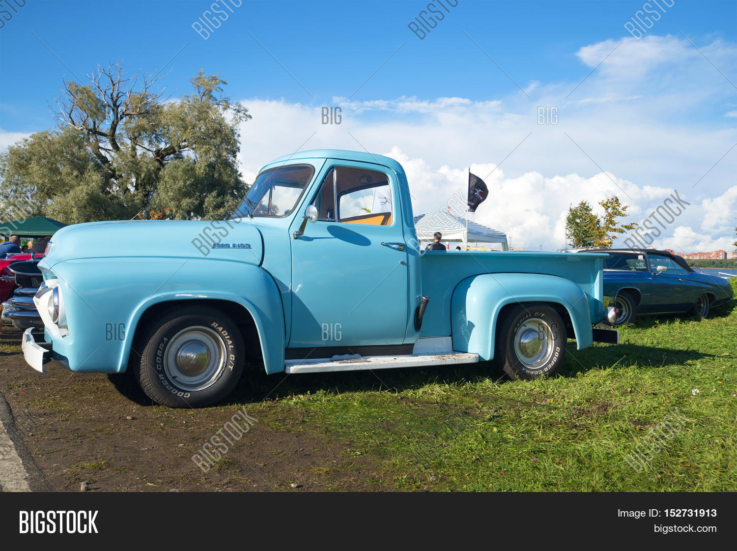 Kronstadt Russia Image Photo Free Trial Bigstock 1954 Ford F100 Pickup Truck September 04 2016 Model Year
