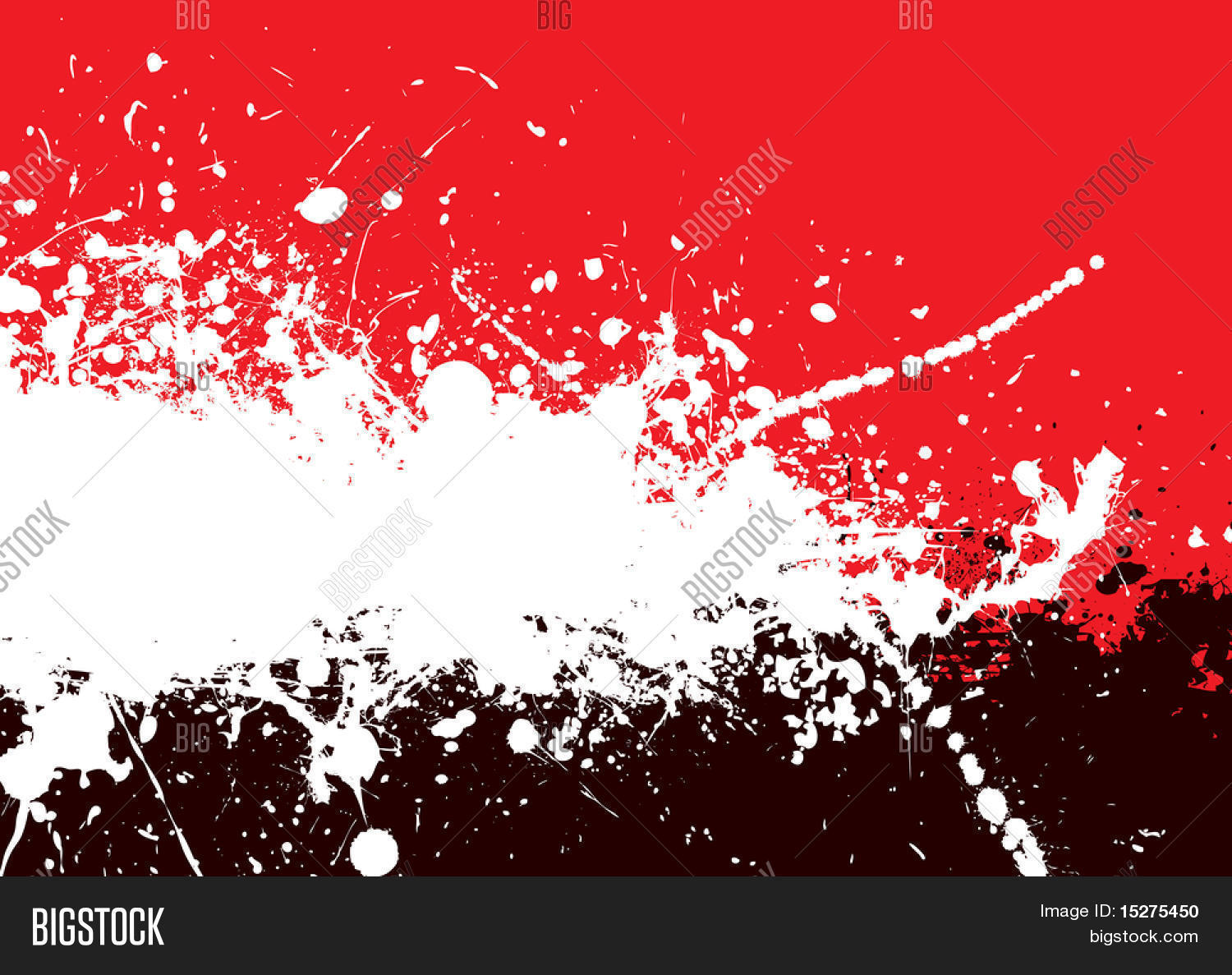 Red Black Abstract Vector Photo Free Trial Bigstock