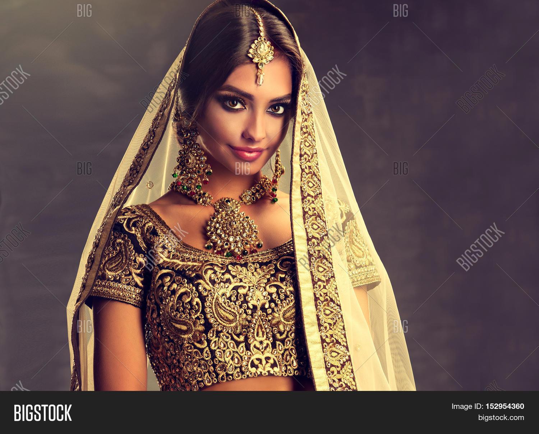 Beautiful indian girl portrait