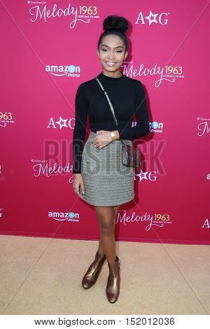 LOS ANGELES - OCT 10:  Yara Shahidi at the