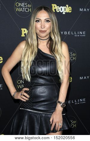 LOS ANGELES - OCT 13:  Diana Madison at the People's One To Watch Party at E.P. & L.P on October 13, 2016 in Los Angeles, CA