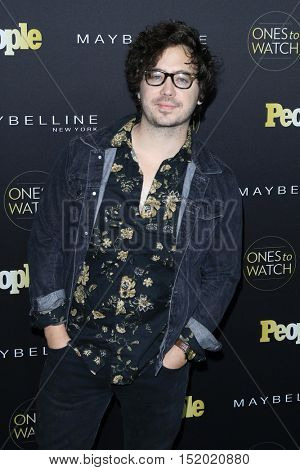LOS ANGELES - OCT 13:  Marty Shannon at the People's One To Watch Party at E.P. & L.P on October 13, 2016 in Los Angeles, CA