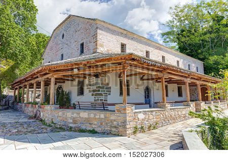Church of Zoodochos Pigi in Vizitsa village, Pelion, Greece