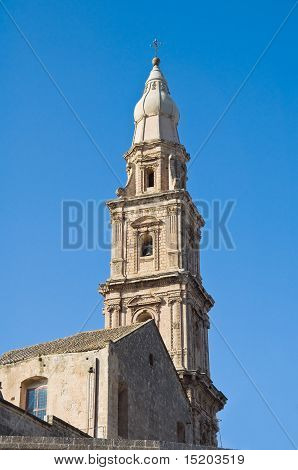 Belltower church. Monopoli. Apulia.