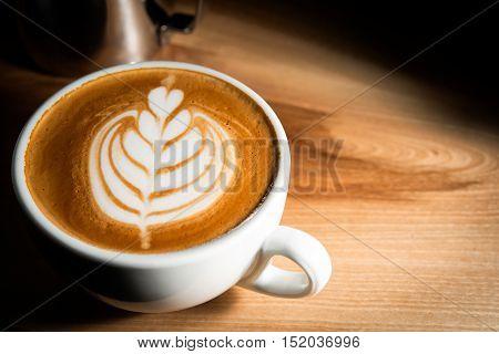 Italian Cappuccino With Decoration