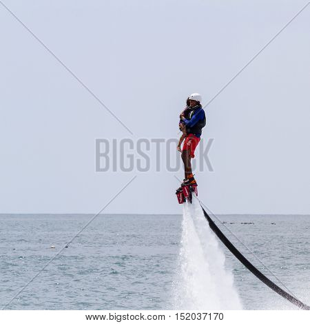 Flyboarding In Panama