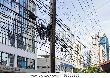 Energy Grid In Panama City