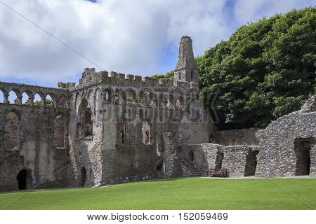 St Davids Bishops Palace, St David's, Pembrokeshire, Wales, Great Britain