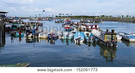 Fishing Boats In Panama City