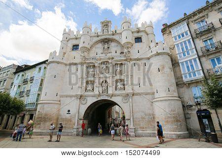 Burgos Historic City Gate
