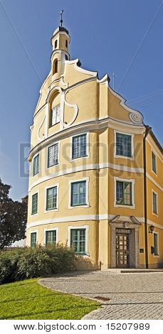 An image of the city hall in Kichheim Bavaria Germany