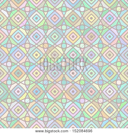multicolor mosaic background / Vector seamless multicolor mosaic pattern.