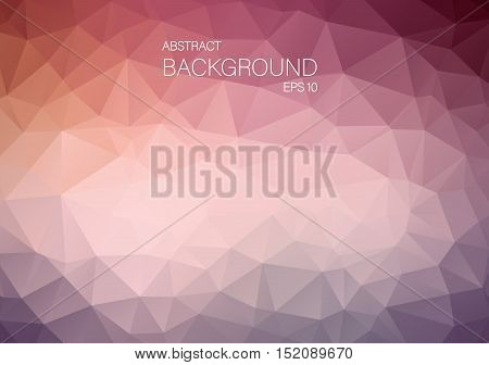 Abstract triangle shapes. Art Vector backgound for your design