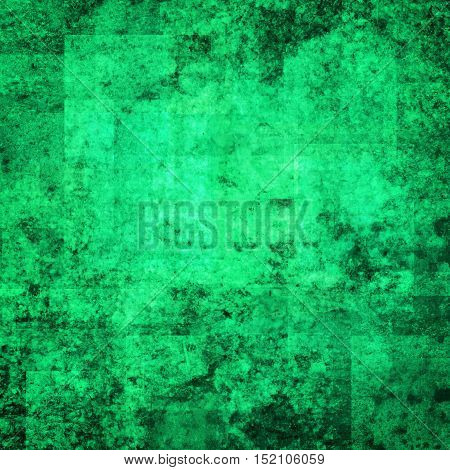 abstract colored scratched grunge background - bright teal