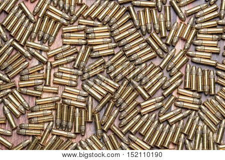22 caliber rimfire ammunition bullets for a rifle