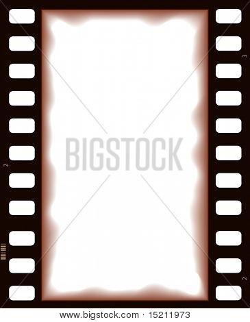 vector film strip retro background
