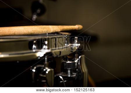 stick on a snare drum musical instrument