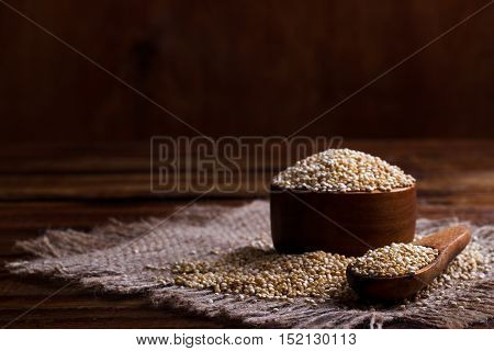 Heap Of Quinoa Seeds