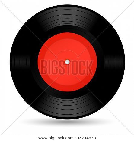 vinyl record - vector